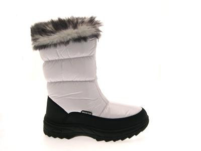 Kids Snow Boots Warm Winter Fur Lined Ski Boots Girls Moon Jogger ...